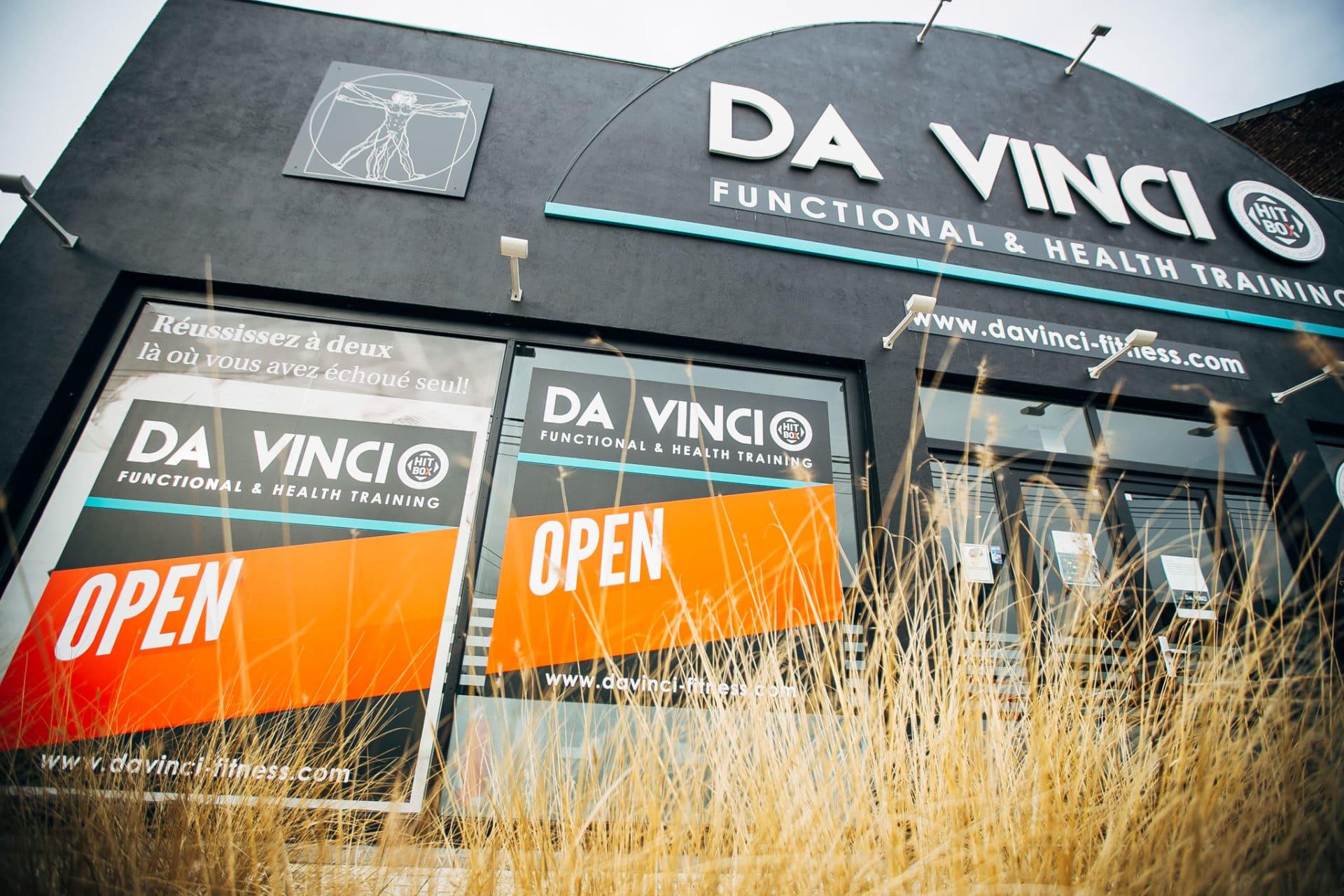 Photo de l'extérieur du Da Vinci Health à Bierges